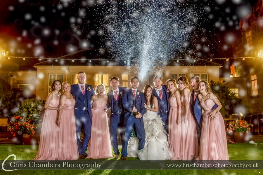Hazlewood Castle Wedding photographs | Award winning Yorkshire wedding photography | Hazlewood Castle wedding photographer