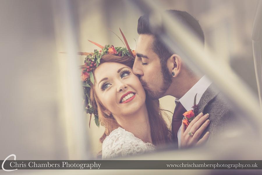 Wedding photography at Hazlewood Castle, West Yorkshire
