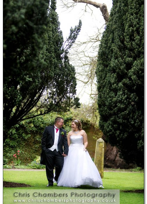 Darren and natalie's wedding photography at st helen's chruch and the parsonage in escrick north yorkshire