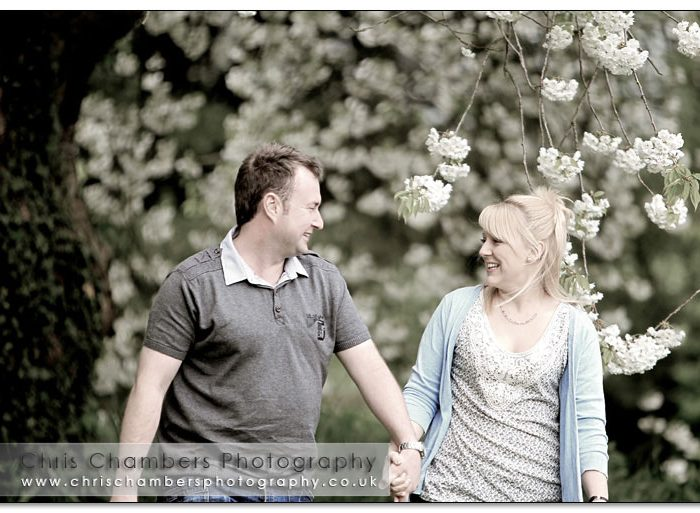 Andy and Ruth's pre-wedding photo shoot at Hodsock Priory