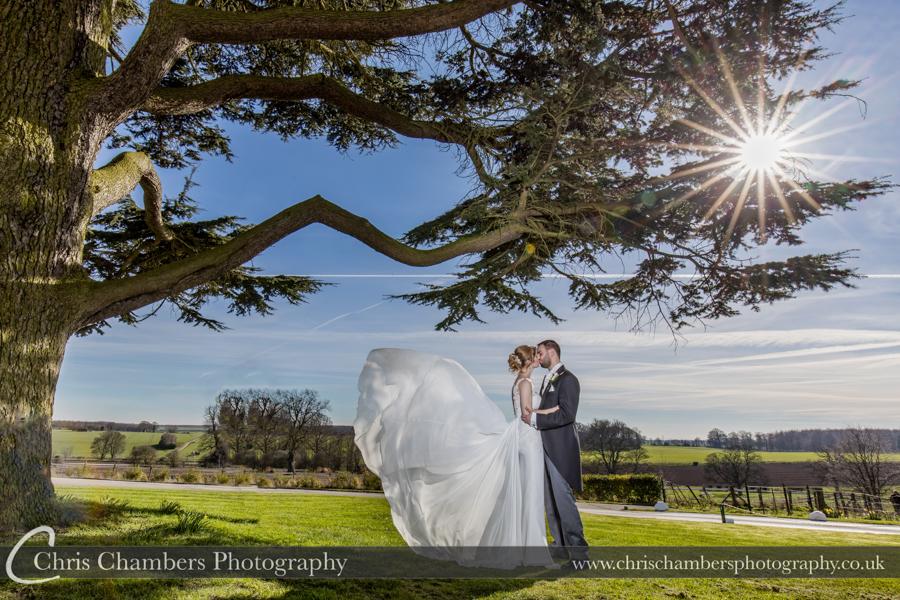 Wedding Photographs taken at Hazlewood Castle, Award winning Yorkshire Wedding Photographer