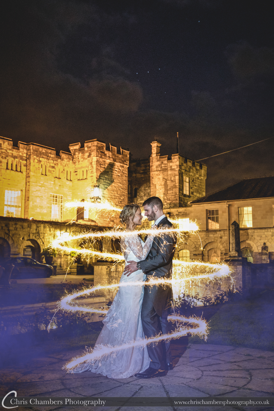 Hazlewood Castle Wedding Photographs in North Yorkshire, Award winning Yorkshire wedding photographer, Chris Chambers photography