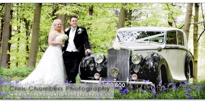 Marc and Joanne's wedding photography at Hazlewood Castle near York. Saturday May 8th 2010