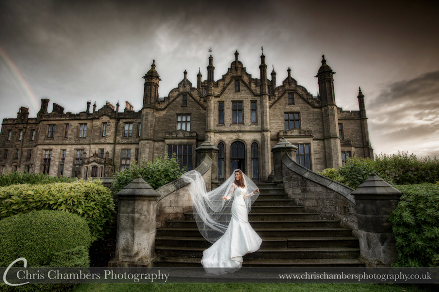 Allerton Castle Wedding photographs in North Yorkshire | Award winning wedding photography