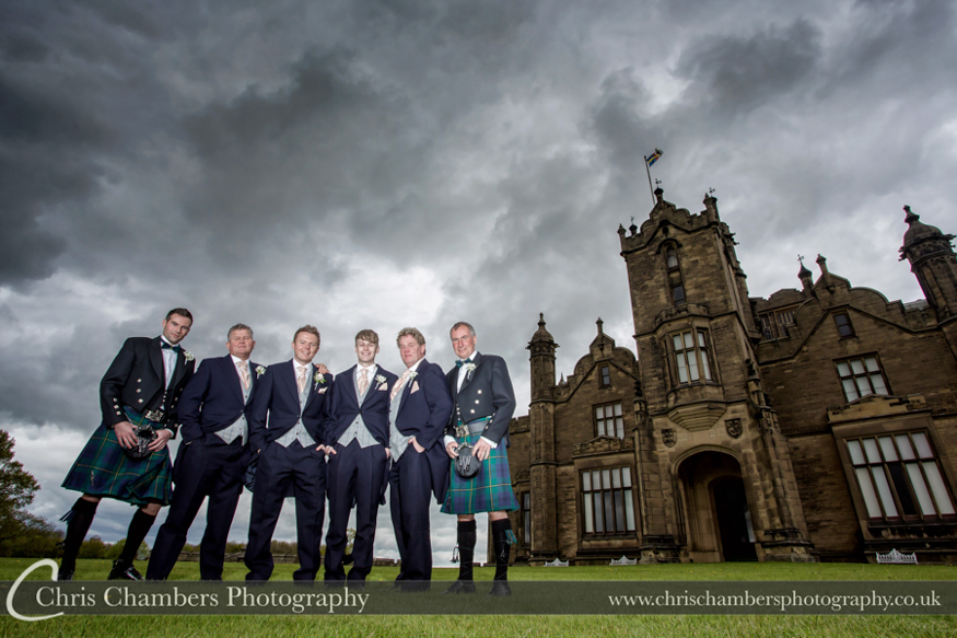 Allerton Castle Wedding photographer | Allerton Castle Wedding photographs | North Yorkshire Wedding Photos