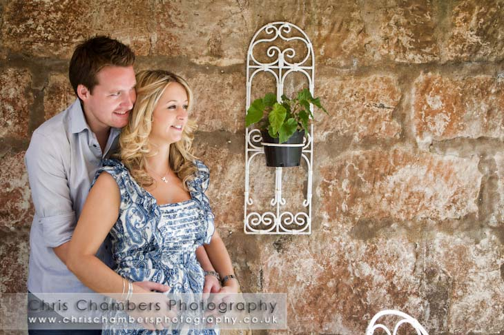 Wedding photography at Hazlewoood Castle near York from Chris Chambers