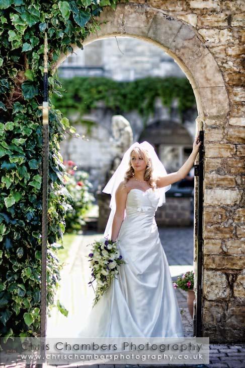 Hazlewood castle wedding photographer photographing weddings at Hazlewood Castle near York
