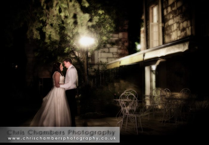 Chris and Lydia's wedding photography at Hazlewood Castle North Yorkshire
