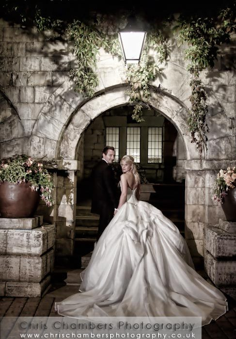 Jason and Jessica's wedding photography at Hazlewood Castle North Yorkshire