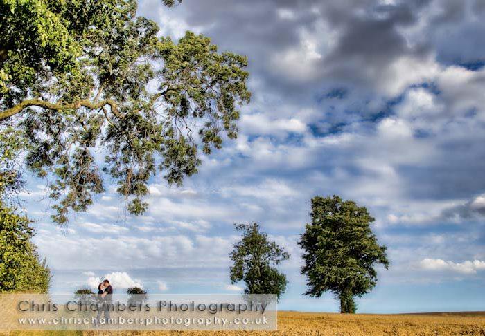 Jason and Faye's Pre-wedding shoot for their wedding at Rogerthorpe Manor