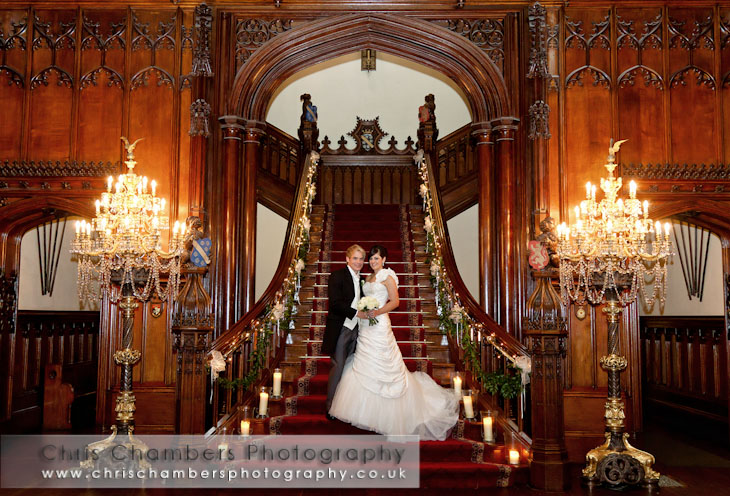 Allerton castle weddings and wedding photography.