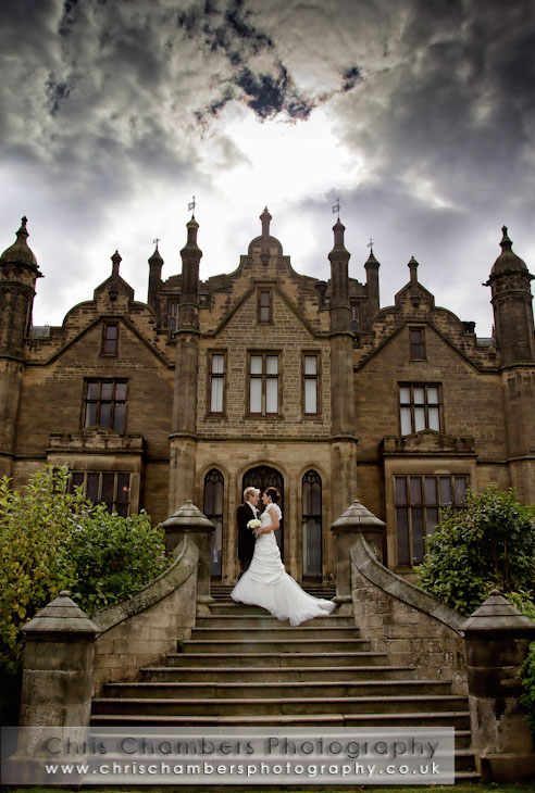 Allerton Castle wedding photographer Chris Chambers recommended by Allerton Castle