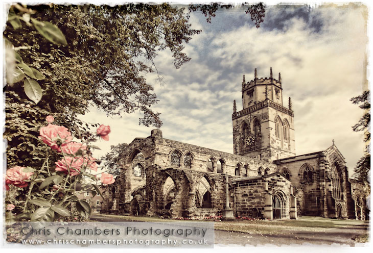 All Saints Church In Pontefract West Yorkshire