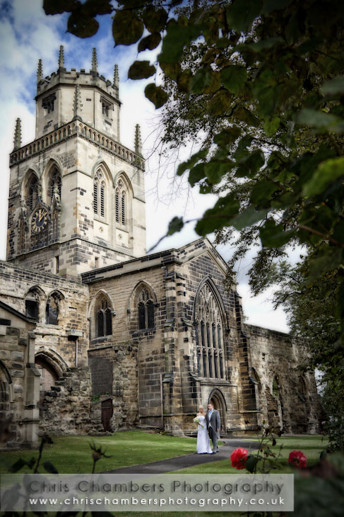 wedding photos from All Saints Pontefract