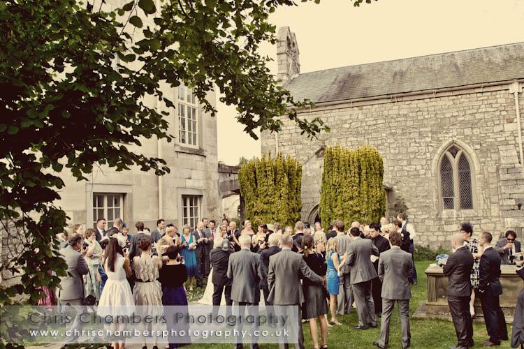 Hazlewood Castle weddings - Hazlewood castle wedding photographer