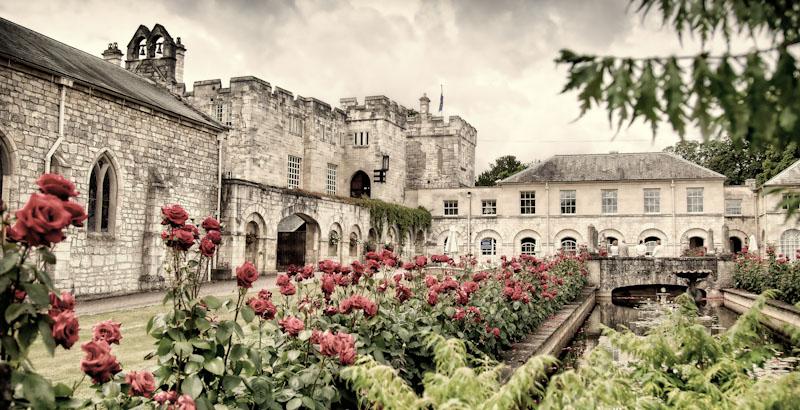 Hazlewood Castle wedding photos