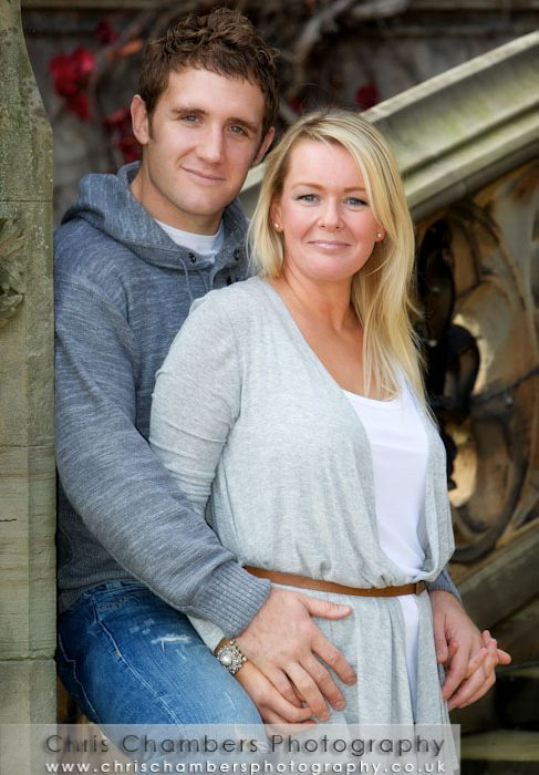 Ryan and Claire's pre-wedding photo shoot at Carlton Towers near Selby