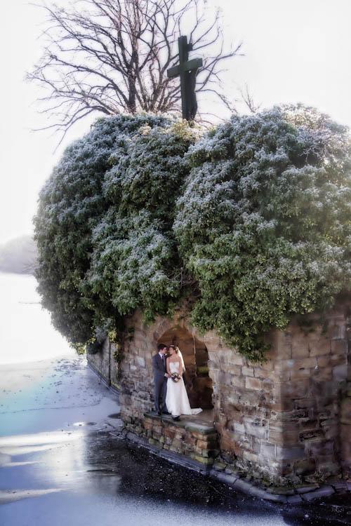 Wedding photography at Walton Hall