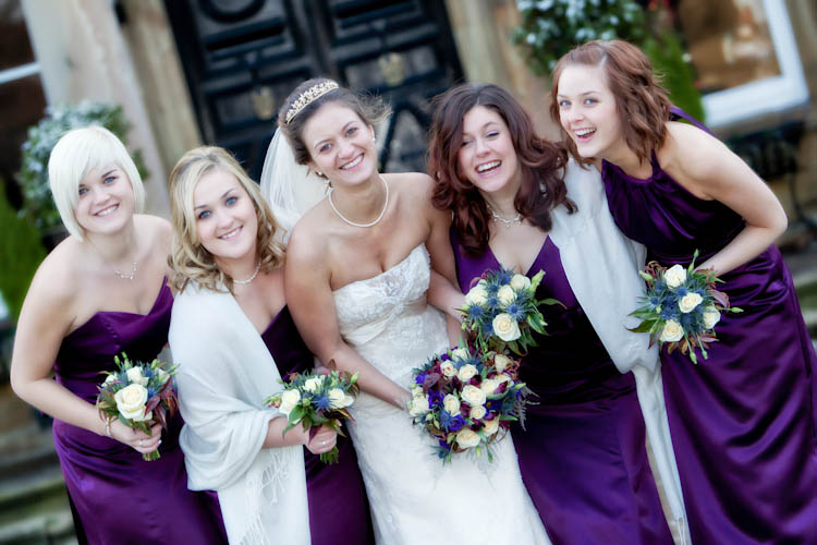 Wedding photography at Walton Hall