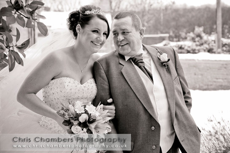 Wakefield wedding photography from Chris Chambers, recommended wedding photographer from Waterton Park Hotel