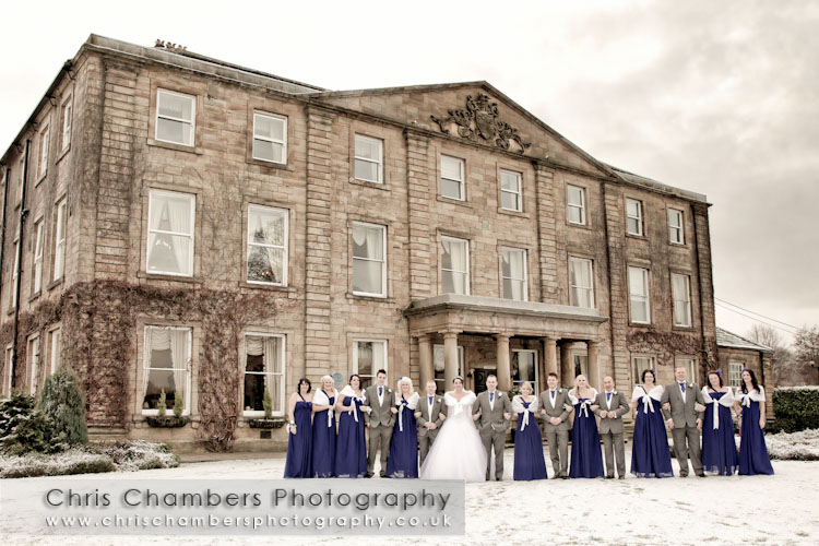 Wakefield wedding photography from Chris Chambers, recommended wedding photographer from Waterton Park Hote