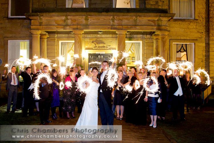 Wakefield wedding photography at Walton Hall Waterton Park Hotel. Wedding photographer Chris Chambers, Wakefield and leeds wedding photography