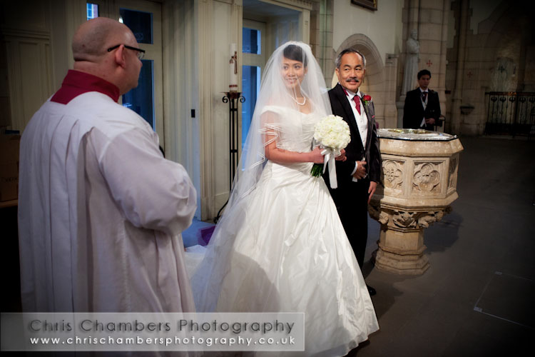 Wedding photography at leeds cathedral, St Annes Cathedral Leeds wedding