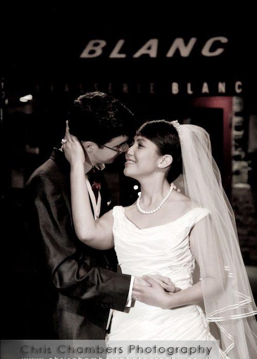 David and Yvette's wedding photography, Leeds January 2011