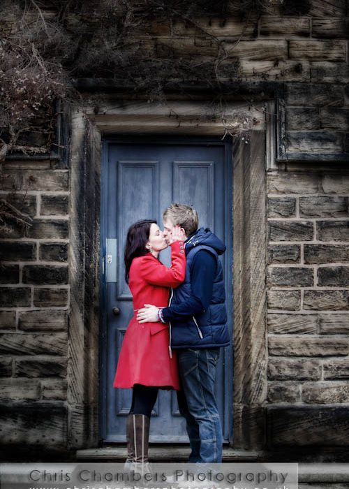 Jonathan and Helen's Pre-wedding photo shoot in Wakefield