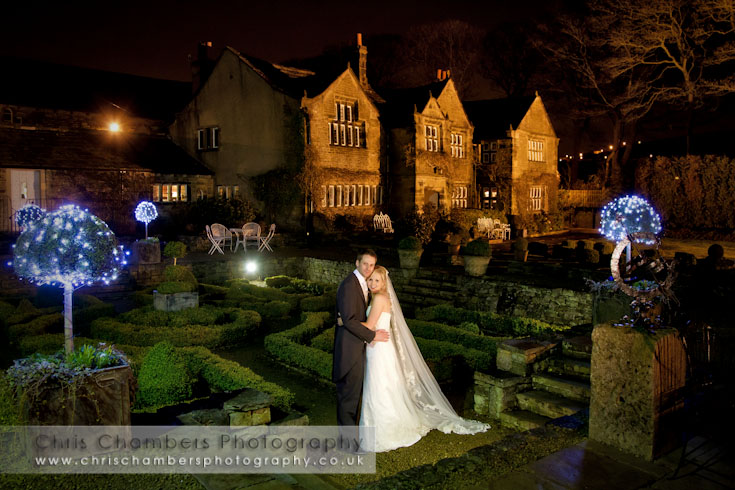 Wedding photography at Holdsworth House near Halifax