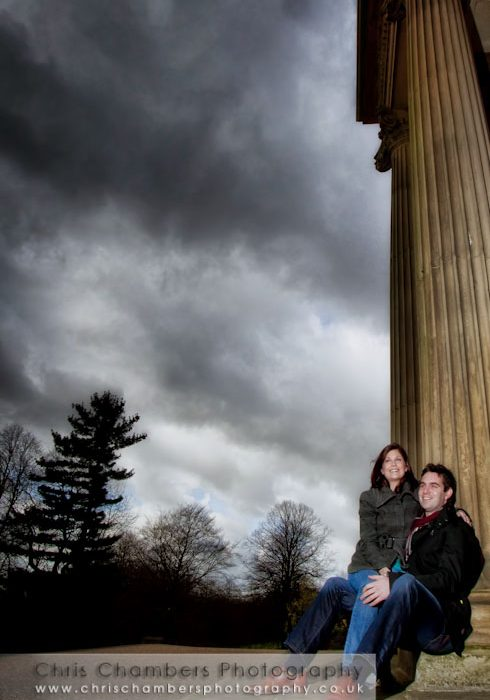 Kylie and Nigel's Pre-wedding photo-shoot in Leeds