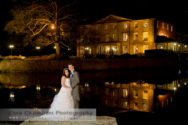 Wakefield wedding photographers - wedding photography at Walton Hall Waterton Park Hotel