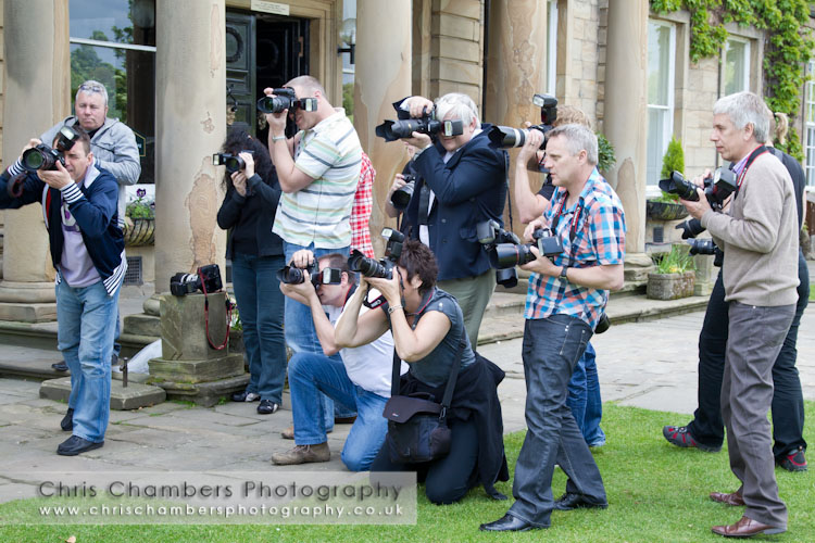 Wedding photographer training courses in West Yorkshire