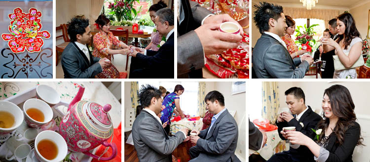 Tea ceremony at a chinese wedding. Wedding photography Chris Chambers
