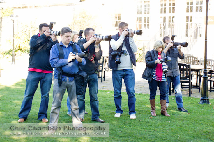 Wedding photographers training Yorkshire