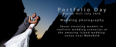 Wedding Photographer Portfolio and training days