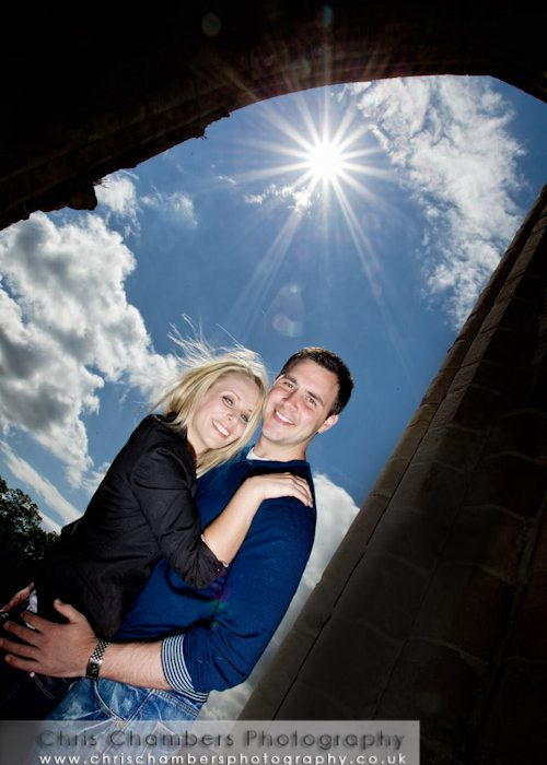 Bolton Abbey and the Devonshire Arms - Pre-wedding photo shoot with Abi and Trevor.