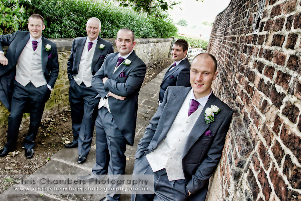 St Oswald's church in Methley to Walton Hall Wakefield - wakefield wedding photography