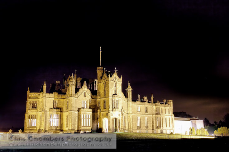 Allerton-Castle-at-night