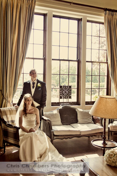 Hodsock Priory wedding photographs : Wedding photography at Hodsock Priory near Worksop