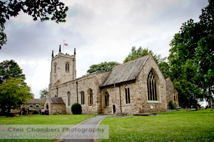 St Mary's Church in Kippax West Yorkshire