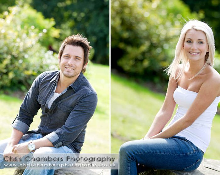 The Mansion House at Roundhay leeds - Simon and Amy's pre-wedding photo shoot