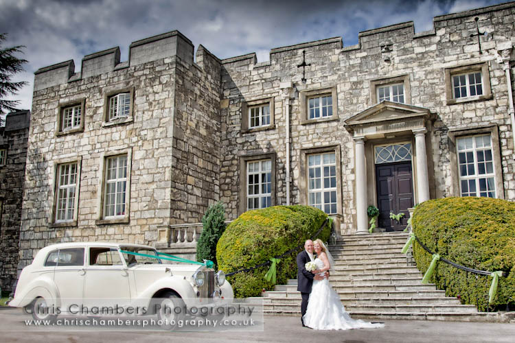 Hazlewood Castle York Wedding photography