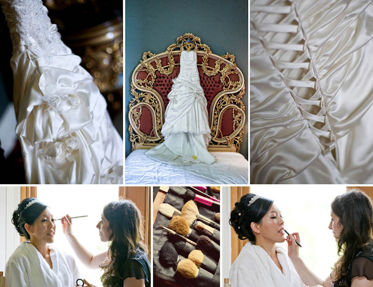 Allerton Castle wedding photographs