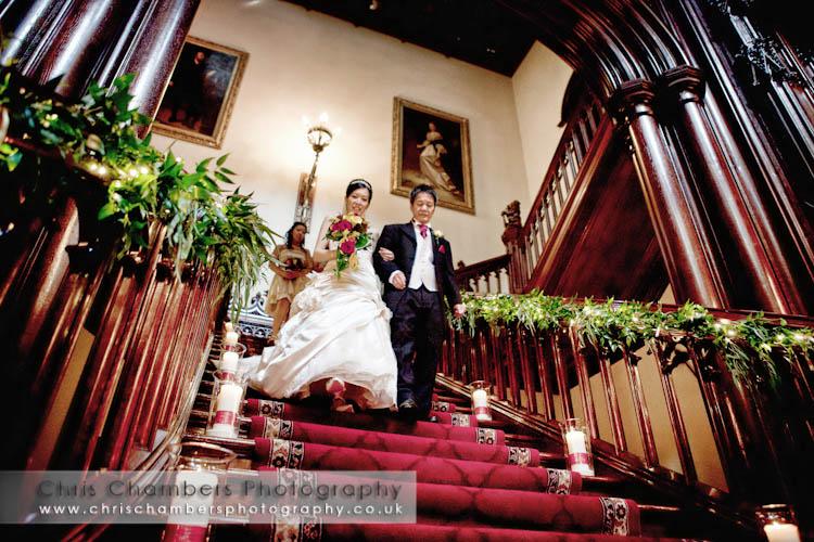 Wedding photography at Allerton Castle