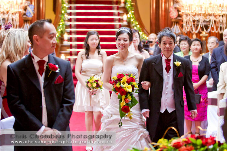 Wedding photography at Allerton Castle