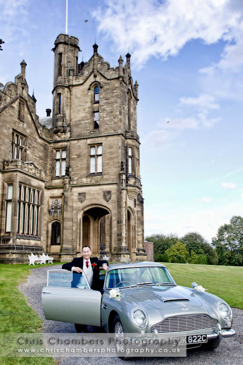 Allerton castle North yorkshire - wedding photography from Allerton Castle