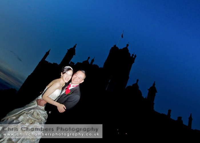 Allerton Castle wedding photography : Andrew and Yvonne's wedding at Allerton Castle