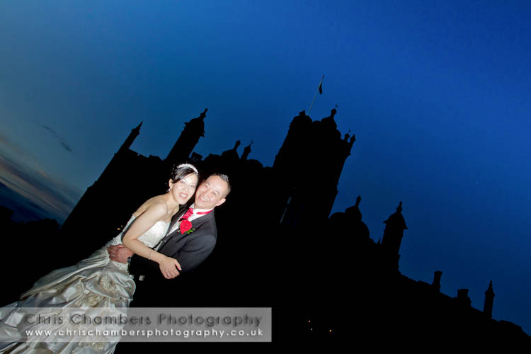 wedding photography from Allerton Castle