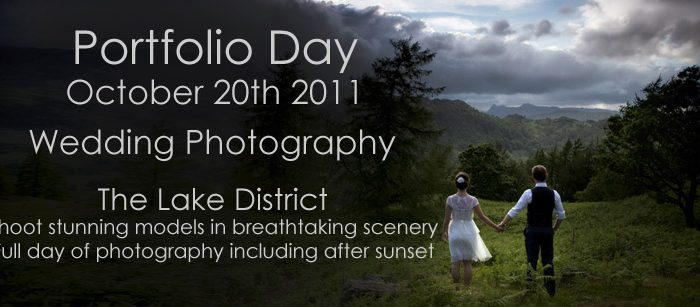 Lake District wedding photography Portfolio Day - October 20th 2011
